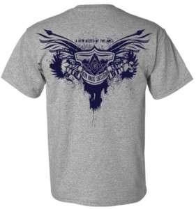 Freemason Masonic Biker Tee shirt
