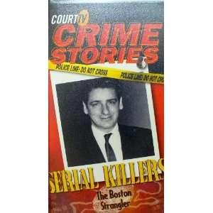 Crime Stories Boston Strangler [VHS] Court TV Crime Stories Movies