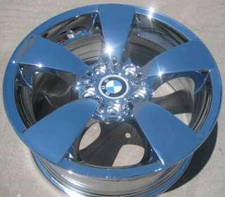 NEW 17 FACTORY BMW 525i 528i 530i 545i 550i RWD OEM CHROME WHEELS