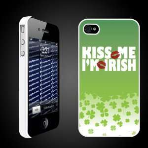 St. Patricks Day Irish Designed Kiss Me, Im Irish   iPhone Hard