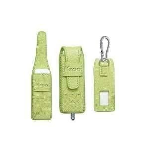 Kroo Laguna Apple iPod Shuffle Leather Case   Apple