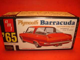 AMT 1965 Plymouth Barracuda Model Car Parts Kit