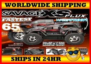 HPI Racing Savage XS Flux 4WD Waterproof 2.4GHz RTR BRAND NEW