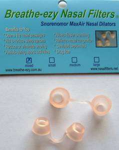 NOSE CLIPS DILATORS EASY BREATHE EXERCISE AID NO STRIPS