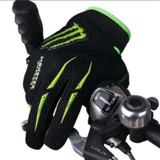 NEW Cycling Bike Bicycle FULL finger gloves Size L