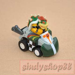 Super Mario Bros kart racers Pull Back Cars figures