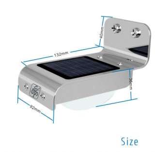 Solar Light Outdoor Garden Lamp Induction lamp Motion Sensor