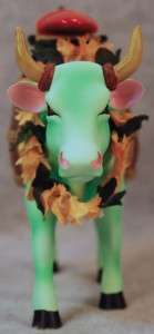 COWS ON PARADE COW A BUNGA SURFER WOODY w/SURFBOARD MIB