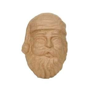 Craft Pedlars Paper Mache Santa Mask Kraft: Arts, Crafts