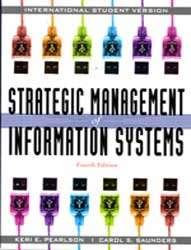 International Edition# Strategic Management of Inform 9780470343814