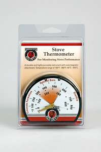 Meeco Thermometer Solid Fuel Stoves and Stovepipe NEW