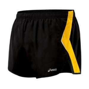 Asics Split Short   Mens   Black/Bronze Yellow: Sports