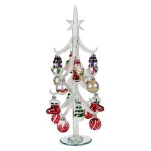 14 Candy Crush Artificial Glass Table Top Christmas Tree