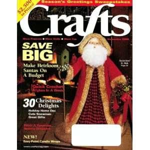 Crafts Magazine   November 2000 Editor in Chief Miriam Olson Books