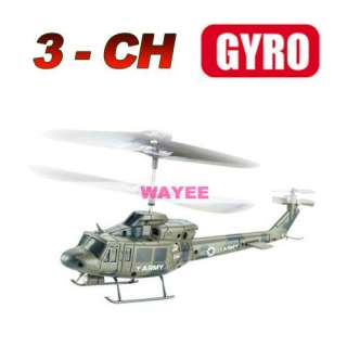 Udirc GYRO 3Ch Mini RC Infrared Army Green Helicopter
