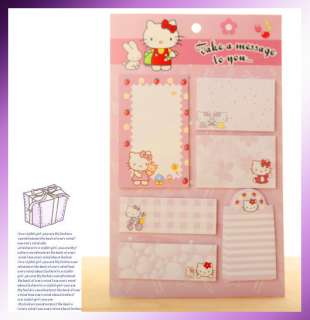 Kitty Sticker Post It Bookmark Point It Marker Memo Flags Sticky Notes