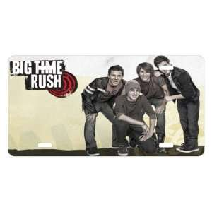 Big Time Rush License Plate Sign 6 x 12 New Quality