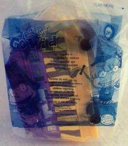 BURGER KING TOY   RUGRATS GO WILD   ELIZAS CARD CADDY