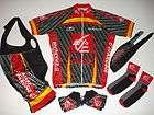 xxl 2xl caisse d epargne team cycling set jersey bib