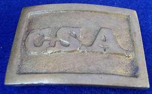 CSA Confederate States America Civil War Belt Buckle
