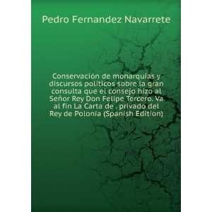 La Carta de . privado del Rey de Polonia (Spanish Edition): Pedro