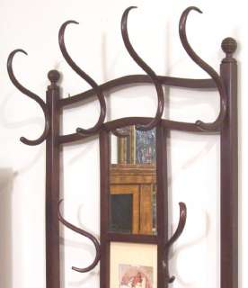 Antique Thonet Austrian Bentwood Hall Stand Coat Rack