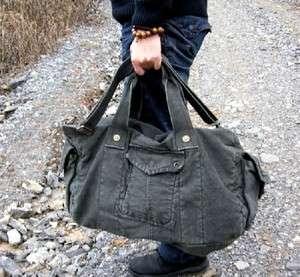 New Canvas Handbag Shoulder Bag Duffle Gym Bag For Travel B186