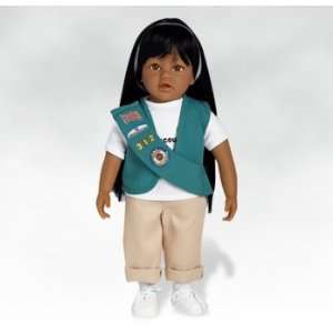 Hispanic Dolls, Maria Jr. Girl Scout, 18 inches Toys