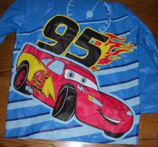 DISNEY CARS HOODIE RAIN JACKET CHILDRENS SZ. L