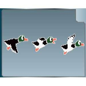 DUCKS sprites from DUCK HUNT vinyl decals stickers 3 pack of 4 decals
