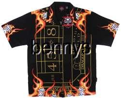 Las Vegas Craps Table shirt, Dragonfly, M/L/XL/2X/3X