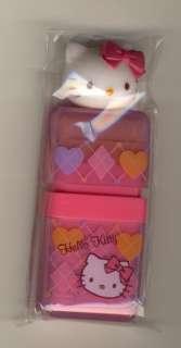 Sanrio   Hello Kitty Argyle Eraser with Scrap Roller