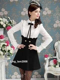 OL Japan Kawaii Fashion Dolly sweet Cute Princess Women Black Lace