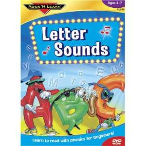 Letter Sounds Phonics for Beginners [DVD] (9781878489463