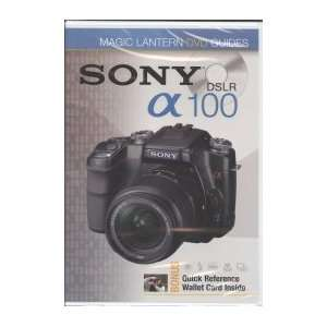 Sony A100 Magic Lantern DVD Guides   TUTORIAL DVD Lark