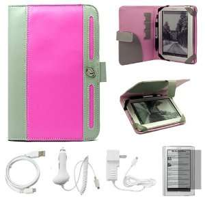 and Grey Protective Leather Case Cover with Accessory Slots for Sony