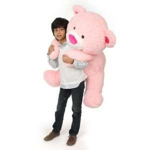 Lulu Shags Chubby and Huge Pink Teddy Bear 45in Toys