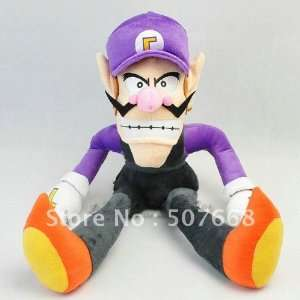 super mario bros brothers waluigi 16 plush doll toy super