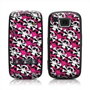 Skully Pink Design Protective Skin Decal Sticker for