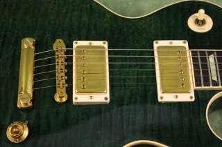 1996 Gibson Les Paul Classic Premium Plus + op Green Gold Hardware