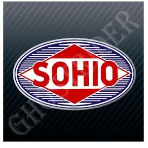 Sohio Gas Fuel Pump Gasoline Station Racing Vintage