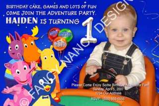 Personalized First 1st Birthday Party Invitation Cards