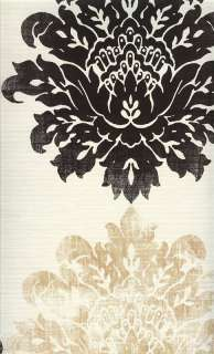 SK167662 Shand kydd Damask Lyons Head Wallpaper