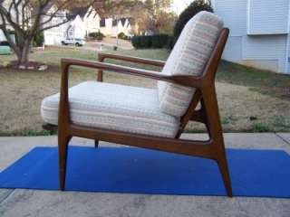Selig Walnut Mid Century Modern/ Eames Era Danish Lounge chair