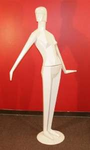 RARE 70 inch Vintage Art Deco VOGUE Full Body Female Woman Mannequin