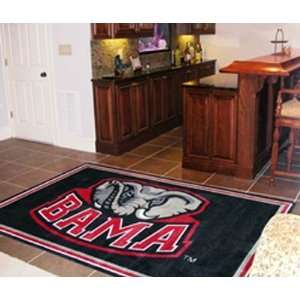 Alabama Crimson Tide Collegiate Merchandise   Area Rug 4