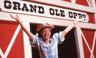 Orig 35mm Transparency Minnie Pearl @ Grand Ole Opry