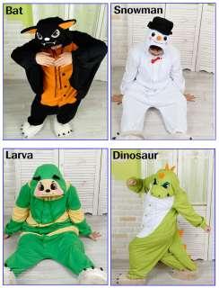 Kigurumi Animal Character Costume Cosplay Pajama Halloween Party *21