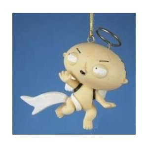 3.25 Family Guy Stewie Griffin Angel Christmas Ornament
