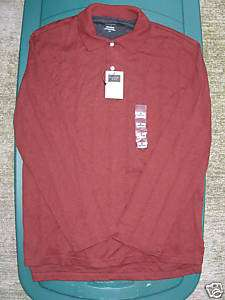 Covington Mens shirt XXL 2x Long Sleeve Polo Cotton NWT